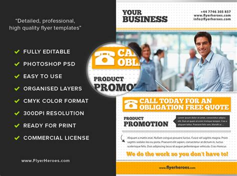 Free online business flyers printouts picture 2