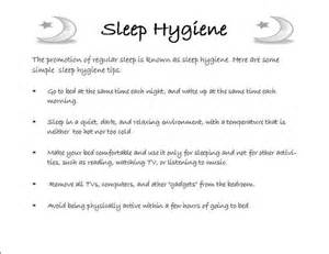 sleep hygiene picture 1