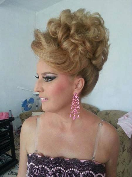 crossdressing sissies getting their hair curled picture 10