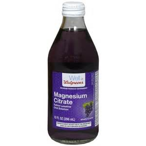 is magnesium citrate safe to frink when you picture 10