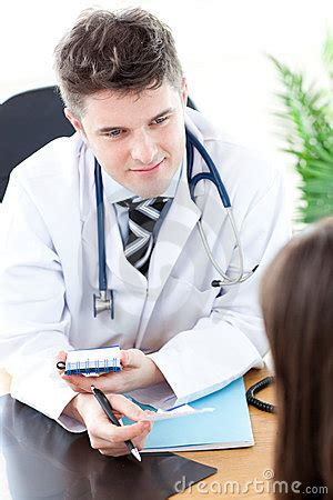 female dr. gives man physcal picture 18