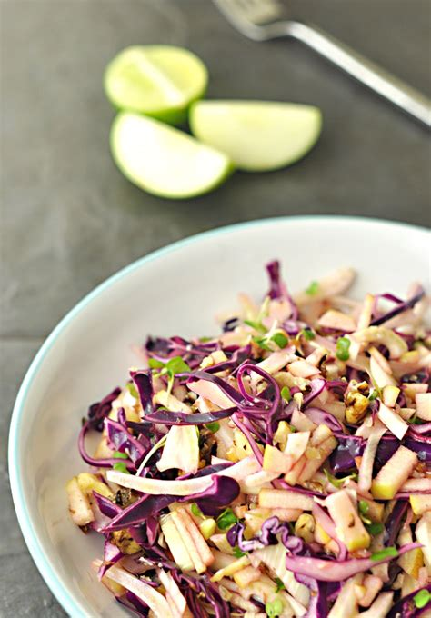 cabbage fennel salad recipe picture 7