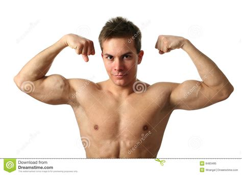 flexing muscles picture 9