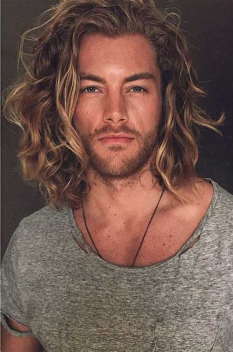 picture of men's long hair picture 9