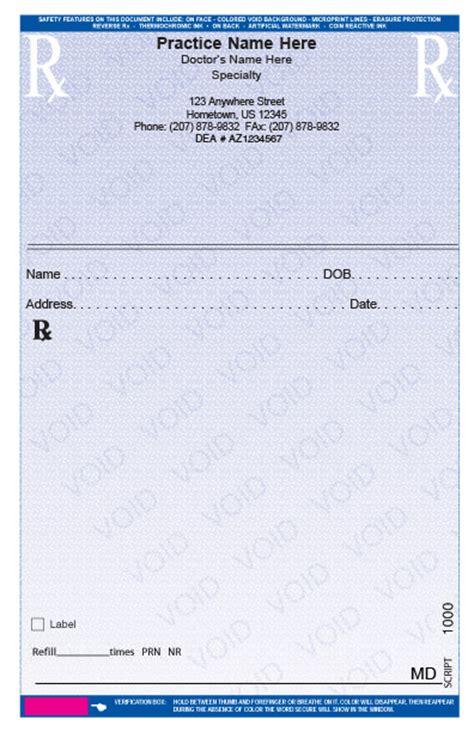 forms rx prescription sample example picture 11