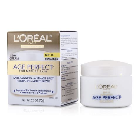 l'oreal age perfect skin-supporting & hydrating makeup spf picture 4