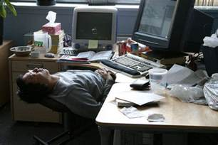 falling asleep at the desk picture 7