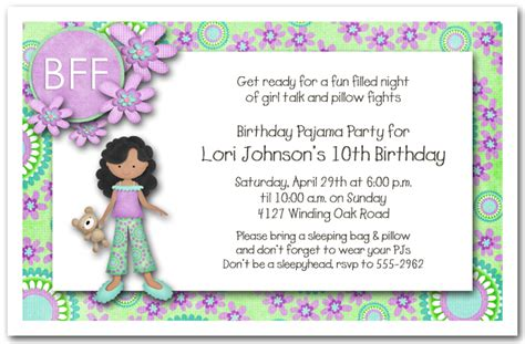free printable sleepover party invitation picture 7