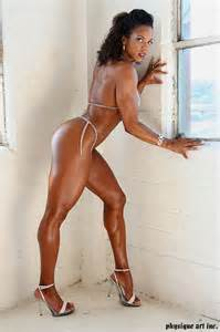 ebony female muscle picture 2
