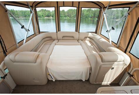 pontoon boat sleep picture 3