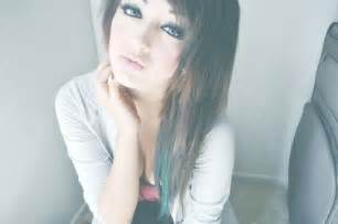 brown hair green eyes girl picture 13