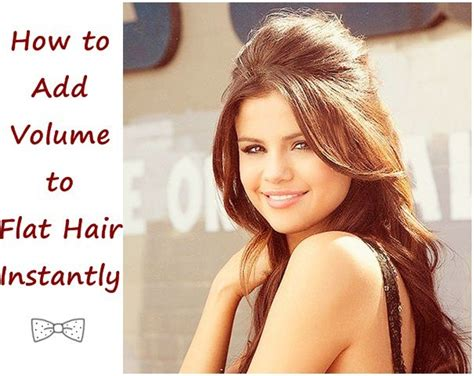 add volume to hair picture 1