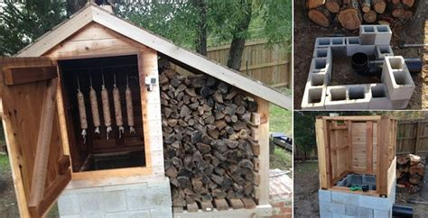 how to build a smoke house picture 7