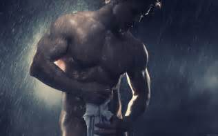 shower muscle men picture 9