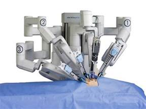 Robotic prostate surgery picture 1