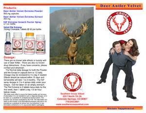 deer antler velvet extract effects on erections picture 7