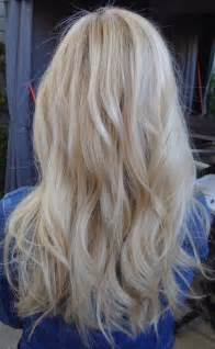 pure blonde color hair picture 5