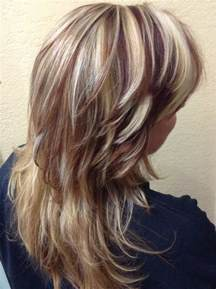 black hair with streaks and colors picture 10