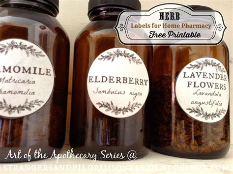 your own labels for herbal products and picture 8