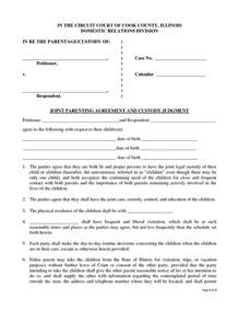 joint custody agreement picture 11