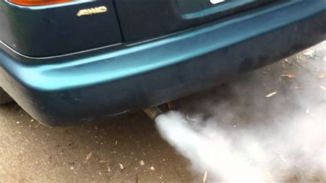 dangerous white smoke from exhaust picture 6