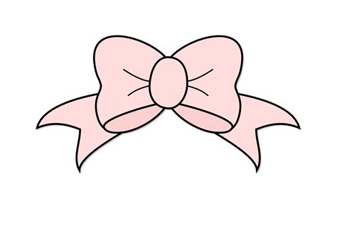 free hair ribbon clip art picture 11