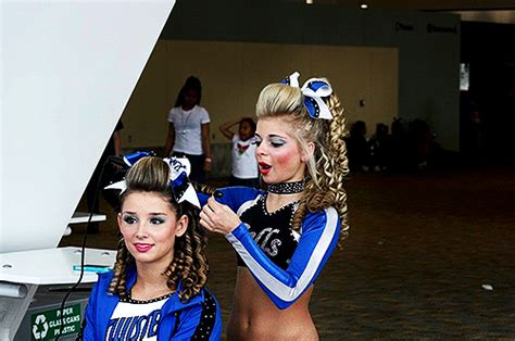 cheer hair picture 1