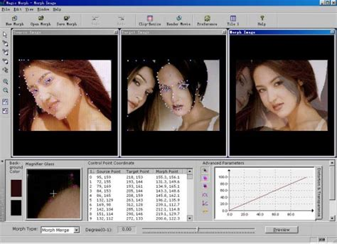 free breast morph software picture 6
