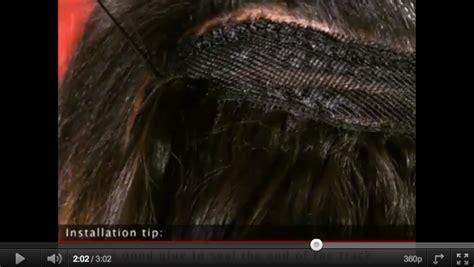 christina hair weaving technique picture 9