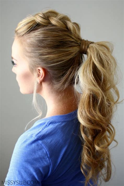crimped hair down prom styles picture 5