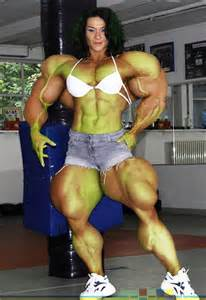 sexy female muscle growth picture 13