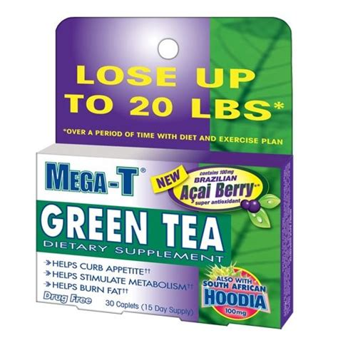 3 of mega-t green tea water pill -- picture 7