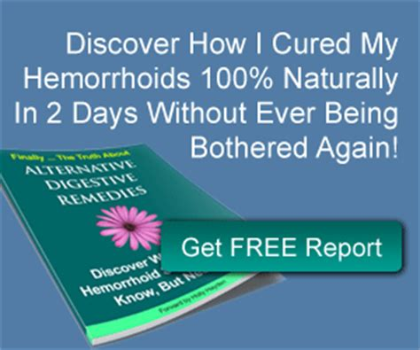 treating hemorrhoids naturally picture 2