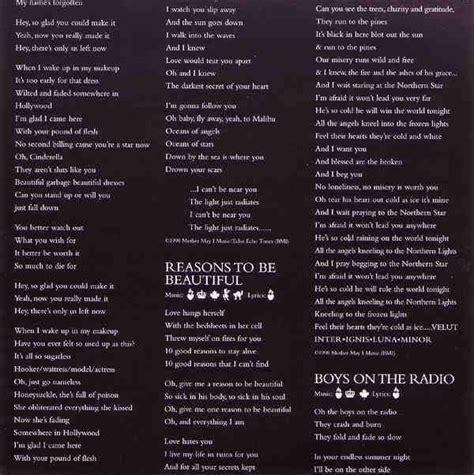 celebrity skin lyrics picture 12