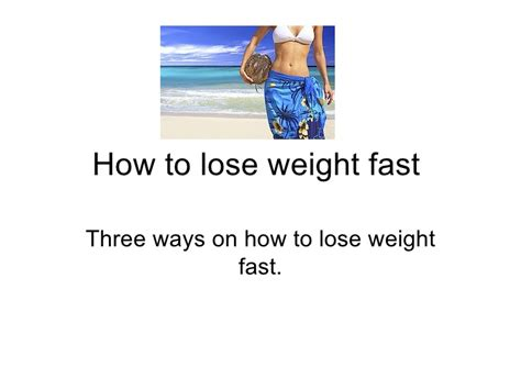 how fast should i lose weight on dietrine picture 4