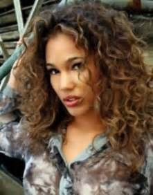 curly hair highlights picture 9