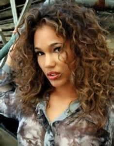 curly hair highlights picture 10