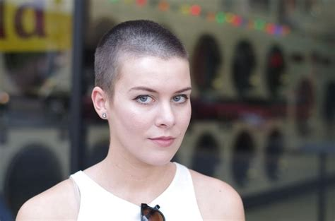 fulker shaved head women picture 6