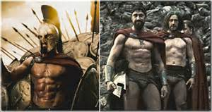 how did the actors in 'the 300' get picture 1