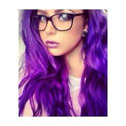 hispanics with purple hair picture 2