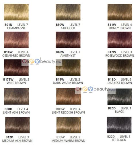 clarol hair chart picture 13