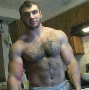 hairy muscle men video picture 1