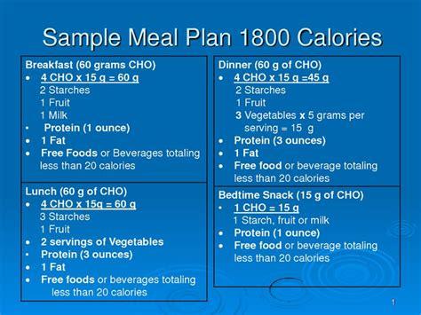 1800 calorie diabetic diets picture 1
