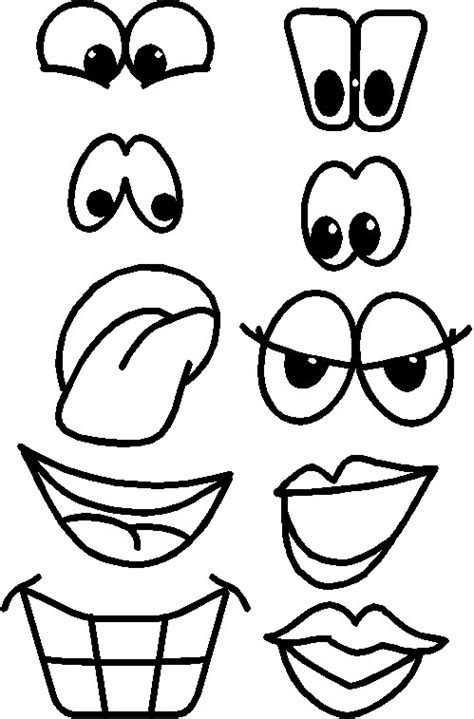 eyes nose lips embroidery patterns picture 11