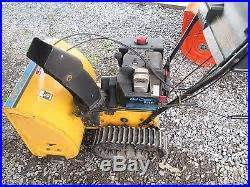 cub cadet snow blower 826t picture 1