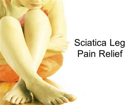 leg pain relief picture 1
