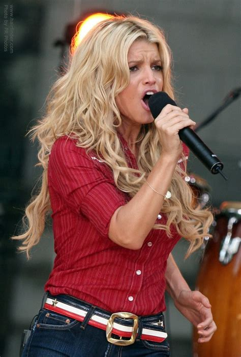 Jessica simpson red hair picture 1