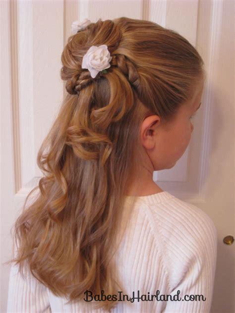 flower girl hair doos picture 13