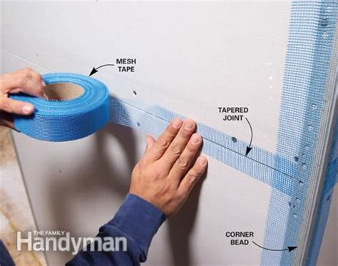 who to tape drywall joints picture 3