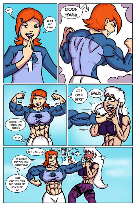 female muscle growth comics picture 5